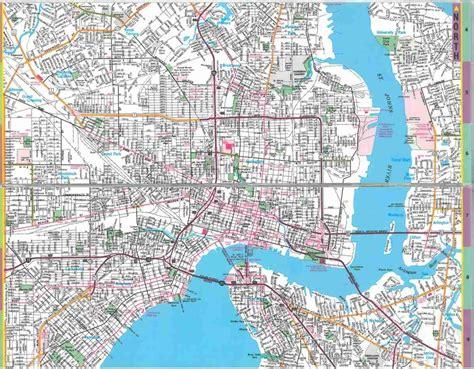 map of jacksonville fl jacksonville florida images