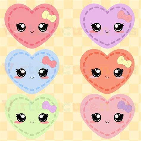 Printable Heart Stickers Free | 23 best kawaii sticker images on pinterest kawaii
