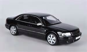 audi s8 typ d2 black ottomobile diecast model car 1 18