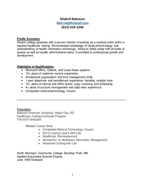 Coder Resume by Coder Resume