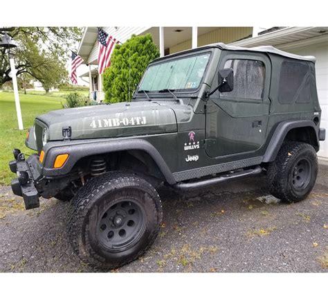 2004 Jeep Wrangler Tj Willys Edition