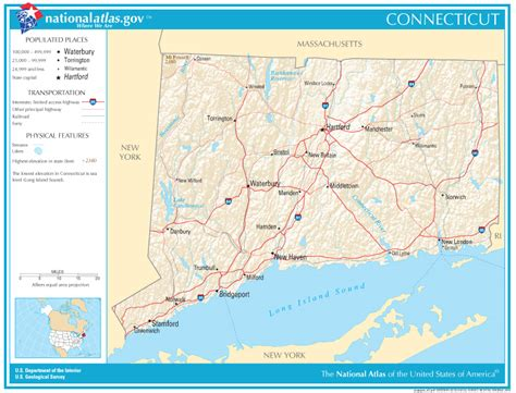 ct road map connecticut state maps interactive connecticut state road
