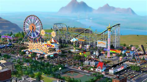 hd theme park wallpaper bouw nu je eigen pretpark in simcity nwtv