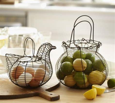wire kitchen baskets baskets by pottery