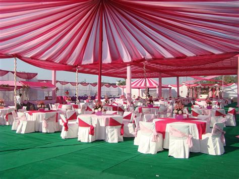 Marriage Home Decoration by Mehta Tent House Pink Amp Froushia