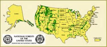national park map of the united states national park national forests encyclopedia