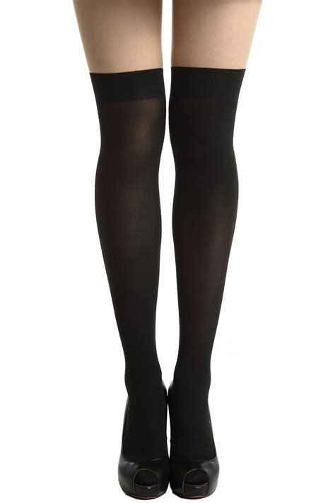 skin color tights black skin color contrasting tightsfor romwe