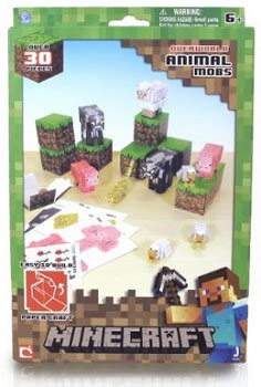 Minecraft Papercraft Animal Mobs Set - minecraft papercraft animal mobs set 5 80 reg 11 99