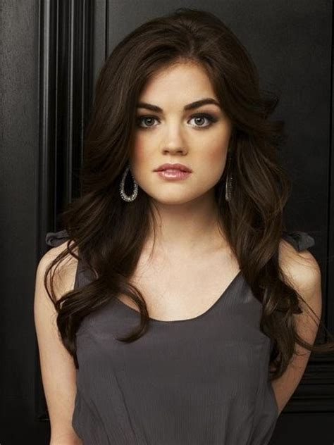 are deep chestnut brown and dark chocolate a similar hair color be like aria montgomery winter hair my hair and love this