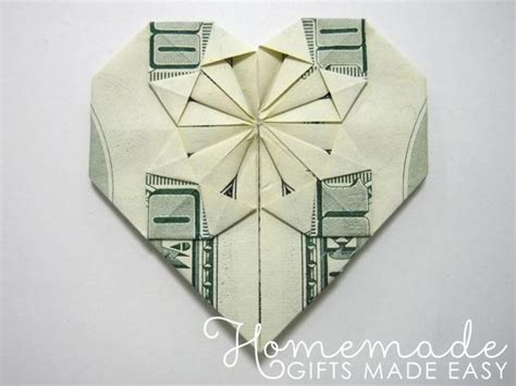 Origami Made With Money - decorative money origami tutorial and picture