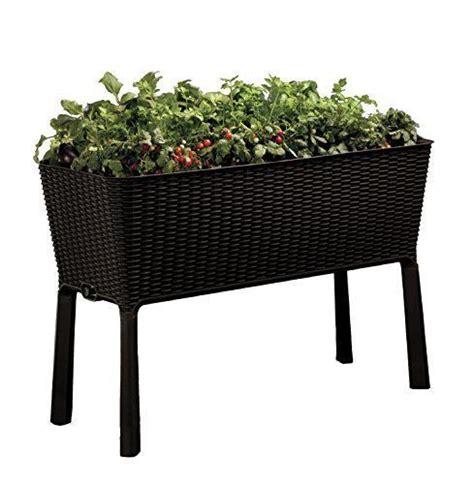 raised planter box patio deck flower garden vegetables