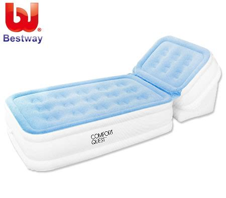 bestway mattress air bed with adjustable backrest sales