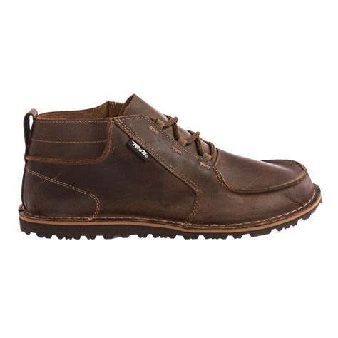 teva boots mens teva mush 174 atoll chukka boots for 9111w save 50
