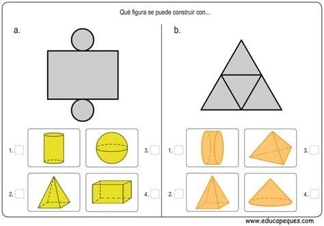ejercicios de figuras geometricas m 225 s de 25 ideas incre 237 bles sobre ejercicios de figuras