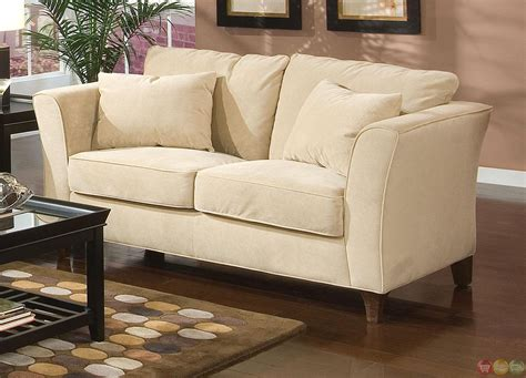 park place velvet upholstered living room furniture set park place contemporary cream velvet upholstered living