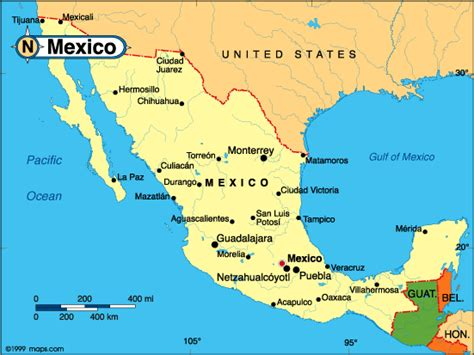 Finder Mexico Where Can I Find A Map Of Mexico