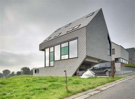 haus funksteuerung kompaktes passivhaus in belgien