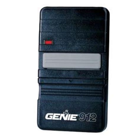 Home Depot Garage Door Opener Remote by Genie Garage Door Opener 912 Remote Controller