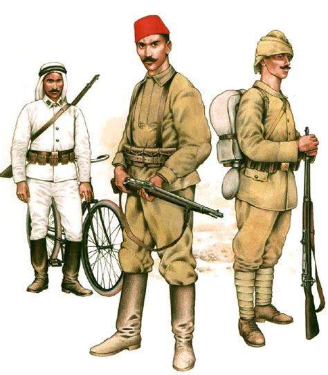 ottoman army ottoman army in world war one 1914 1918 uniforms