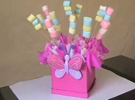 centro de mesa decoracion baby shower bautizo cumplea 241 os bs 10 500 00 en mercado libre la cesta de caperucita centros de mesa dulces