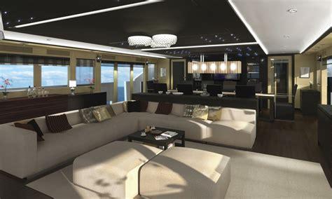 ultra modern mega yacht interior soraya 46 superyacht main deck saloon yacht charter