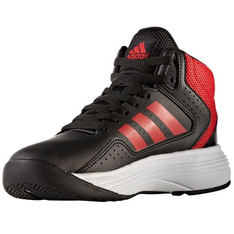 basketball shoes black adidas boys cloudfoam ilation mid basketball shoes black