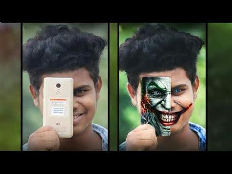 picsart tutorial face joker on face picsart editing tutorial ज कर क ब न