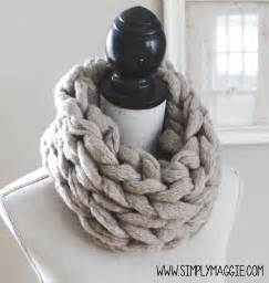 How To Knit An Infinity Scarf Arm Knit An Infinity Scarf In 30 Minutes Knitting Review