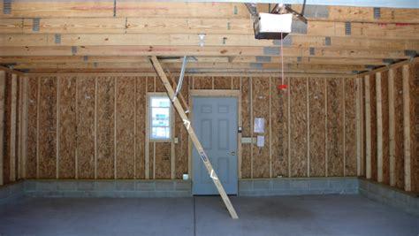 Garage Attic Trusses by Mn Garage Contractors Western Construction Inc