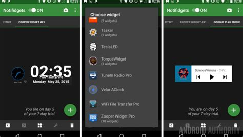 lock screen widgets for android lock screen widgets on android lollipop android customization android authority