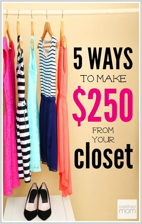 You Can Make From Your Closet by Make Money From Your Closet Like 250 In Two Hours