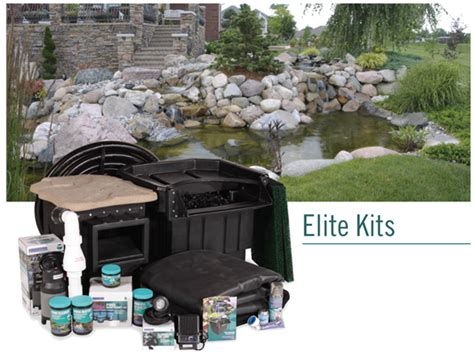 Garden Pond Kits by Large Water Garden Kits Elite