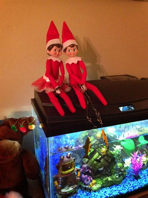 on the shelf easy ideas for two elves building our