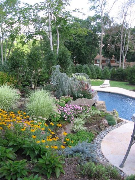 backyard with pool landscaping ideas best 25 pool landscaping ideas on backyard