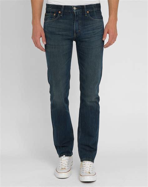 Celana Levis Slimpit Blue Garment levi s faded blue 511 pr slim fit in blue for lyst
