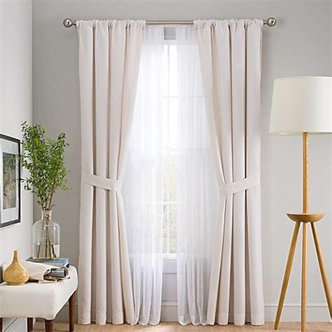 curtain panel set skyler 6 piece rod pocket window curtain panel set bed