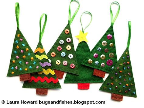 felt tree template bugs and fishes by lupin how to sew easy felt