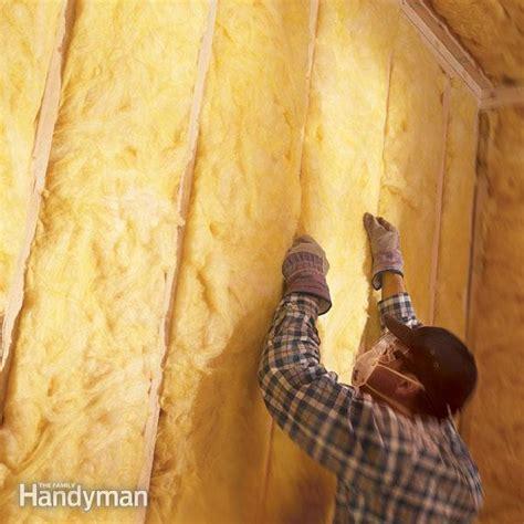 install fiberglass batt insulation  family