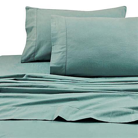 tribeca living sheets buy tribeca living 200 gsm solid flannel deep pocket full sheet set in aqua from bed bath beyond