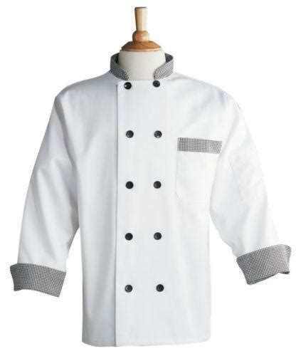 Baju Koki Baju Chef By Spn Shop chef coat ebay