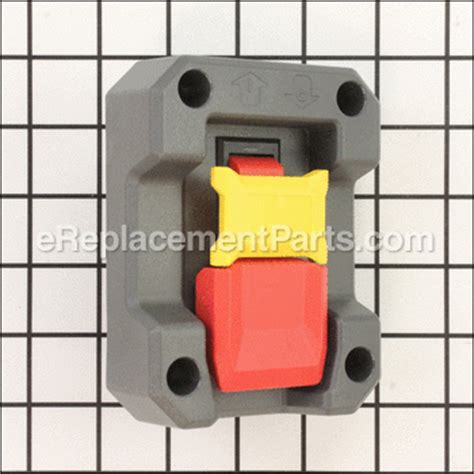 ridgid table saw power switch switch actuator assembly 089037006704 for ridgid power