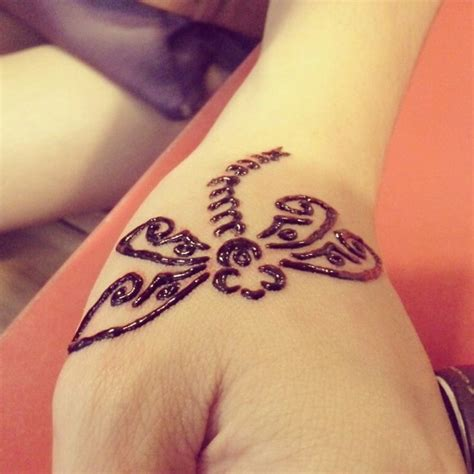 cute butterfly henna tattoo for hand henna ink pinterest