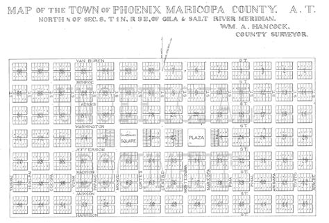 quarter section map city of phoenix quarter section map