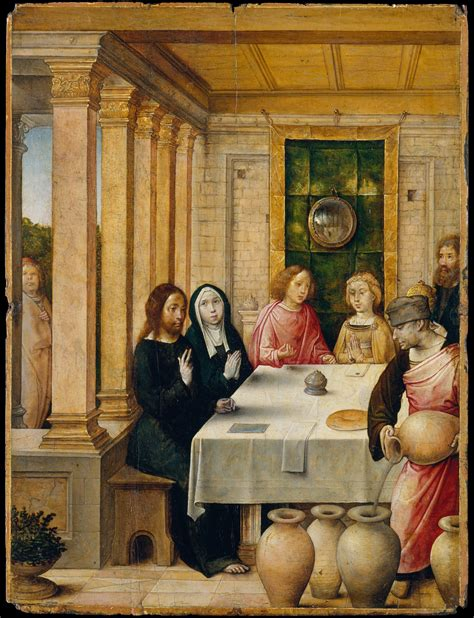 Wedding Feast At Cana Luke by Miracle Of Jesus At Cana