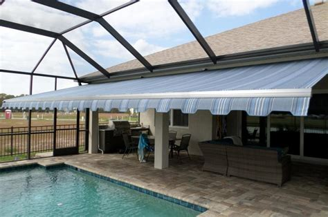 sarasota awnings sarasota poolside awning shade and shield sarasota fl