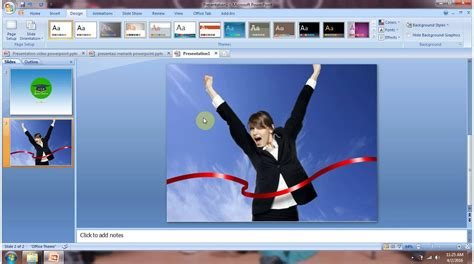 tutorial presentasi powerpoint 2007 tutorial cara membuat animasi loading pada slide