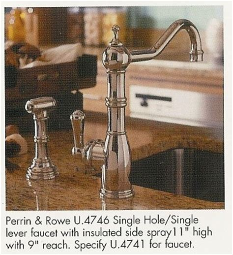 rohl u 4775x perrin and rowe alsace four hole kitchen rohl kitchen faucets
