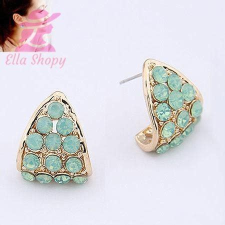Anting Import Korea Mutiara Rumbai jual anting korea import an369 di lapak ella shopy ella aksesoris
