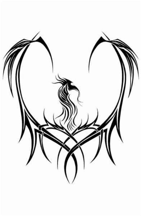 phoenix tattoo heart 32 best phoenix dragon images on pinterest phoenix