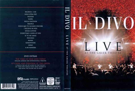 il divo live at the coliseum il divo live at the theatre dvd at discogs